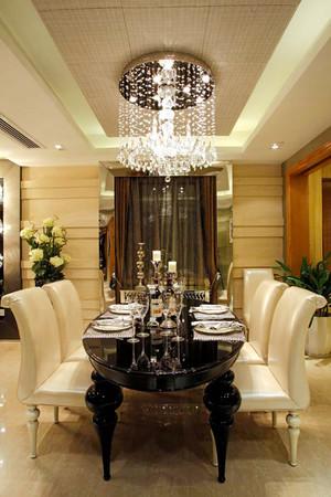257平米新古典主义风格奢华别墅室内装修效果图案例