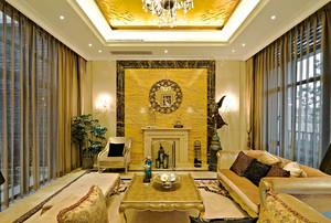 450平米新古典主义风格别墅室内装修效果图赏析