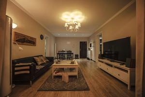 86平米宜家风格温馨两室两厅一卫装修效果图赏析