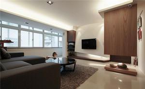 82平米现代简约风格温馨两室两厅室内装修效果图