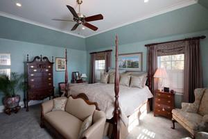 美式风格精致别墅室内卧室装修效果图赏析