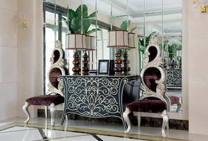 163平米欧式风格精美典雅大户型室内装修效果图案例