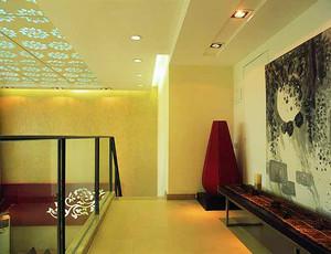 167平米新中式风格简约复式楼装修效果图案例