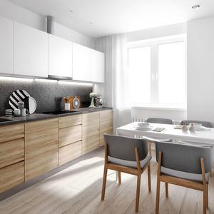 70平米宜家风格简约自然两室两厅设计效果图鉴赏