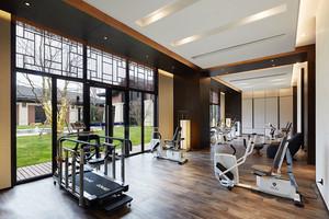 中式风格健身房设计装修效果图
