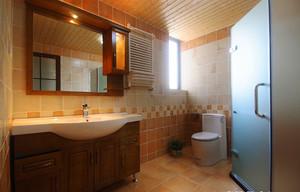 176平米东南亚风格精致复式楼室内装修效果图案例