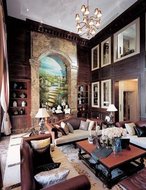 369平米法式风格华丽别墅室内装修效果图鉴赏