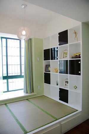 清新风格小户型卧室榻榻米装修效果图赏析