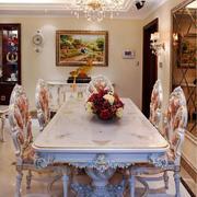 奢华精美欧式风格餐厅设计装修效果图