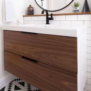 宜家风格简约小户型卫生间浴室柜装修效果图