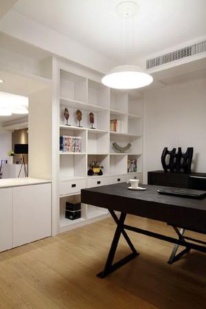 现代简约风格黑白色书房设计装修效果图赏析