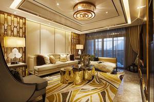 120平米新古典主义风格精致室内装修效果图赏析