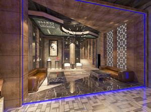 现代风格精致时尚KTV大厅设计装修效果图