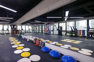 90平米现代风格瑜伽馆设计装修效果图赏析