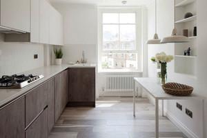 北欧风格简约整体厨房装修效果图欣赏