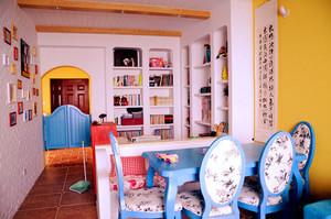 地中海风格时尚创意书房装修效果图赏析