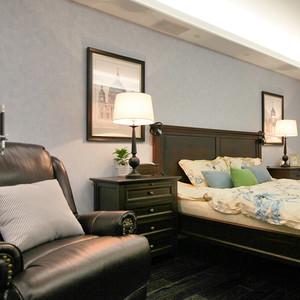 100平米简约美式风格精装室内装修效果图鉴赏