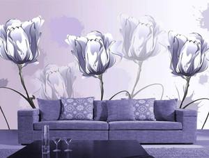现代简约风格客厅背景墙装修效果图赏析