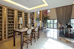 400平米美式风格精致别墅室内装修效果图案例
