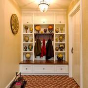 欧式风格进门玄关鞋柜设计装修效果图赏析
