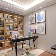 12平米现代风格精致书房设计装修效果图赏析