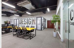 56平米现代风格小型办公室装修效果图赏析