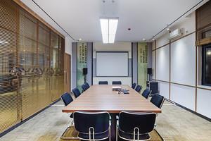 现代风格精致小型会议室装修实景图赏析