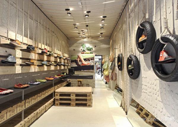 后现代风格时尚创意鞋店装修效果图赏析