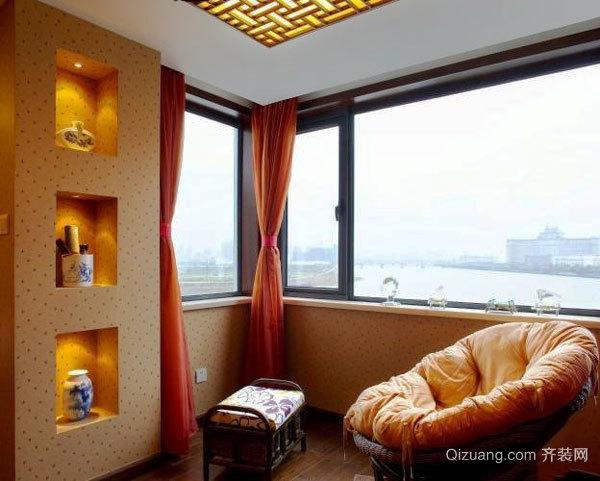 欧式风格奢华大气客厅吊顶设计装修效果图-齐装网装修