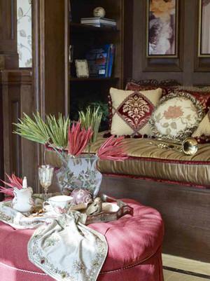 294平米浪漫法式典雅别墅室内装修效果图