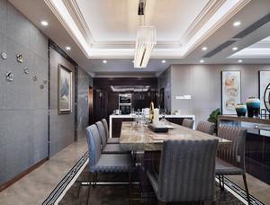 后现代风格大户型精致餐厅设计装修效果图赏析