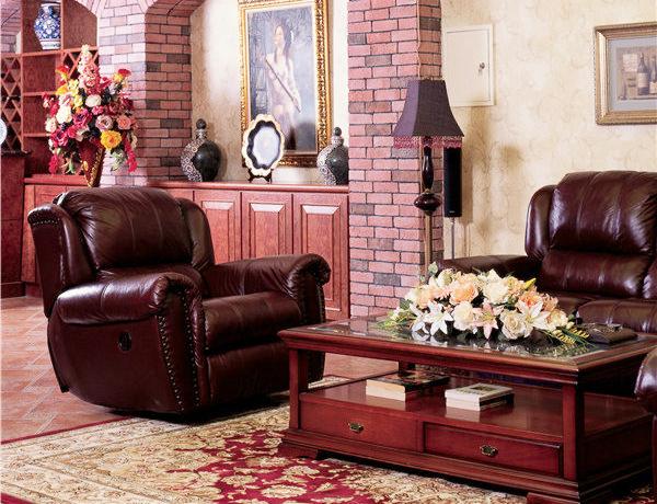 149平米美式混搭风格复式楼室内装修效果图案例