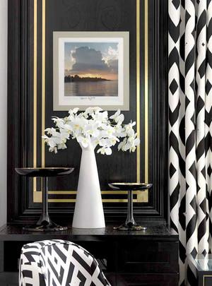 130平米精致美式风格两居室装修效果图案例