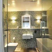6平米现代风格卫生间装修效果图案例