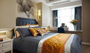 东南亚风格精致卧室飘窗设计装修效果图赏析