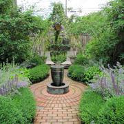 新中式风格别墅花园设计装修效果图赏析
