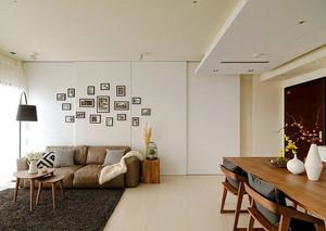 66平米宜家风格简约一居室室内装修效果图赏析