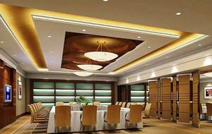 现代风格大型会议室装修效果图赏析