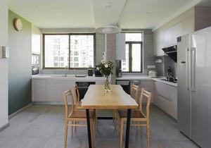 现代简约风格两居室厨房餐厅装修效果图赏析