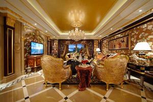 289平米古典欧式风格奢华别墅室内装修效果图赏析