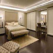 简欧风格简约温馨的大户型精致卧室装修效果图赏析