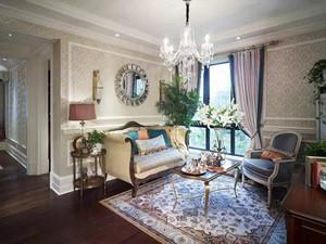 141平米欧式风格雅致大户型室内装修效果图实例