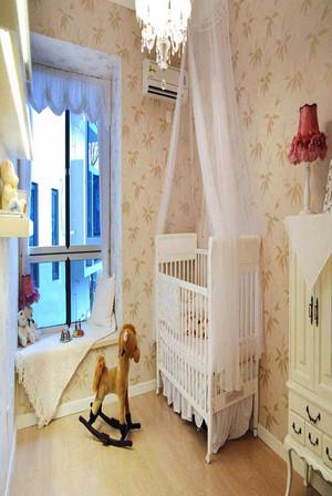134平米欧式风格奢华精致三室两厅装修效果图案例