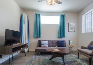 清新风格简约客厅装修效果图赏析