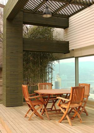 现代风格休闲舒适阳台设计装修效果图赏析