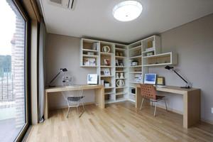 现代简约风格书房设计装修效果图赏析