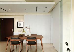 65平米宜家风格简约小户型装修效果图案例