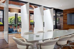 现代简约风格会议室隔断设计装修效果图