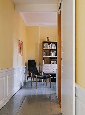 76平米北欧风格文艺清新两室一厅装修效果图案例
