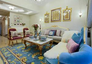 249平米法式风格奢华浪漫复式楼装修效果图案例